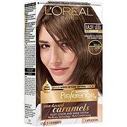 L'Oreal Paris Superior Preference Sun Kissed Caramels Cooler Hi-Lift UL51 Natural Brown Permanent Color