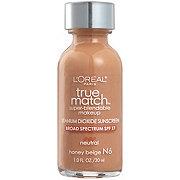 L'Oreal Paris True Match Neutral Honey Beige N6 Super-Blendable Makeup