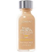 L'Oreal Paris True Match Super-Blendable Makeup, Warm Fresh Beige