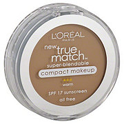 L'Oreal Paris True Match Warm Nude Beige Super-Blendable Compact Makeup