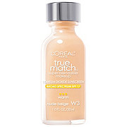 L'Oreal Paris True Match Warm Nude Beige Super-Blendable Makeup