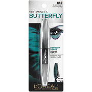 L'Oreal Paris Voluminous Butterfly Lengthening Washable Mascara, Black Brown