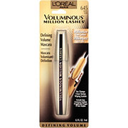 L'Oreal Paris Voluminous Million Lashes Mascara, Black