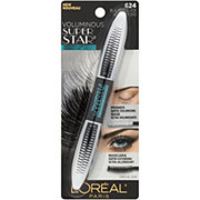 L'Oreal Paris Voluminous Superstar Waterproof Mascara, Blackest