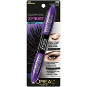 L'Oreal Paris Voluminous X Fiber Waterproof Mascara Blackest Black