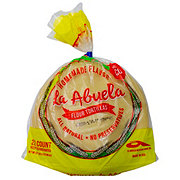 La Abuela Ready To Cook All Natural Flour Tortillas