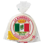 La Banderita Flour Tortillas Family Pack