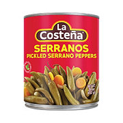 La Costena Green Pickled Serrano Peppers