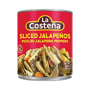 La Costena Green Pickled Sliced Jalapeno Peppers