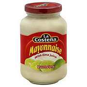 La Costena Mayonnaise with Lime Juice