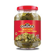 La Costena Pickled Jalapeno Nacho Slices
