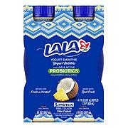 La La Pina Colada Yogurt Smoothie 7 oz Bottles
