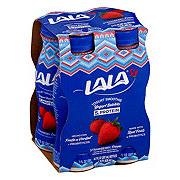 La La Wild Strawberry Yogurt Smoothie 7 oz Bottles