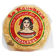 La Ranchera 8 in Burrito Flour Tortillas