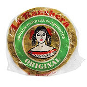 La Ranchera Spinach Tortillas For Burritos