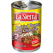 La Sierra Chopped Chipotle Refried Beans