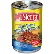 La Sierra Chorizo Flavored Refried Beans