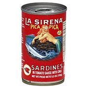 La Sirena Pica Pica Sardines In Tomate Chile