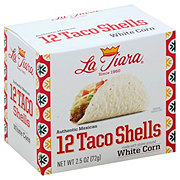 La Tiara White Corn Taco Shells