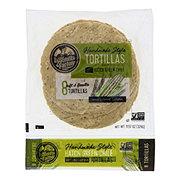 La Tortilla Factory Hand Made Style Green Chile Corn Tortillas