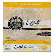 La Tortilla Factory Smart & Delicious Light Flour Tortillas