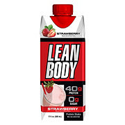Labrada Lean Body Strawberries & Cream Ready-to-Drink Hi-Protein Milk Shake