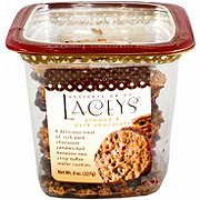 Lacey's Almond & Dark Chocolate Toffee Wafer Cookies