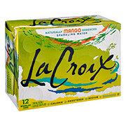 LaCroix Mango Sparkling Water 12 oz Cans