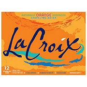 LaCroix Orange Sparkling Water 12 oz Cans