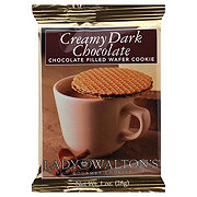 Lady Walton's Creamy Dark Chocolate Waffer