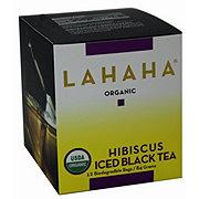 Lahaha Black Iced Tea Hibiscus Organic