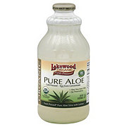 Lakewood Organic Fresh Pressed Pure Aloe Juice