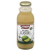 Lakewood Organic Fresh Pressed Pure Lime Juice