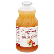 Lakewood Organic Pink Grapefruit Juice