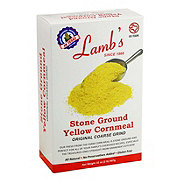 Lamb's Stone Ground Yellow Corn Meal