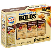 Lance Captain's Wafers Bolds Bacon Cheddar Wafers