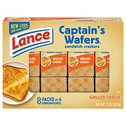 Lance Captain's Wafers Grilled Cheese Cracker Sandwiches