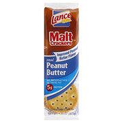 Lance Malt Peanut Butter Cracker Sandwiches