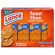 Lance Toast Chee Peanut Butter Cracker Sandwiches