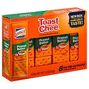 Lance ToastChee Reduced Fat Peanut Butter Cracker Sandwiches