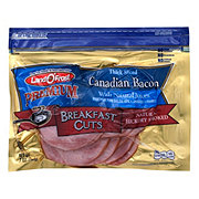 Land O' Frost Breakfast Cuts Thick Sliced Natural Hickory Smoked Canadian Bacon