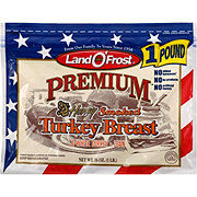 Land O' Frost Premium Honey Smoked Lean Turkey Breast and White Turkey