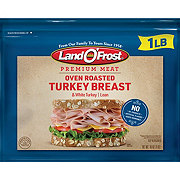 Land O' Frost Premium Oven Roasted Lean Turkey Breast and White Turkey