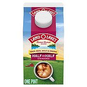 Land O Lakes Traditional Half & Half Milk and Cream