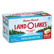 Land O Lakes Unsalted Butter Half Sticks
