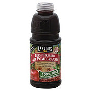 Langers Fresh Pressed All Pomegranate 100%Juice