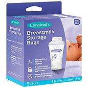 Lansinoh Breastmilk Storage Bags, Pre-Sterilized