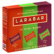 Larabar Cherry Pie, Cashew Cookie and Apple Pie Mini Fruit and Nut Bars