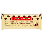 Larabar Chocolate Chip Cookie Dough Fruit and Nut Food Bar