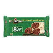 Las Campanas Beef & Bean Green Chili Burritos